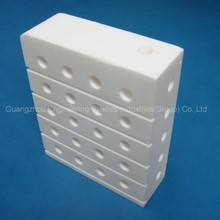 Factory wholesale high precise white ptfe parts hard plastic sheet teflon sheet