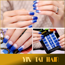 Fashion 9 Styles Polish Nail Art Decals Foils Adhesive Wraps Manicure Stickers