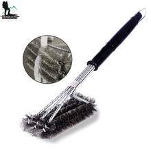 G225 Amazon hot Outdoor Stainless Steel Barbecue Grill Brush Scraper Cleaning Tool BBQ Cleaner