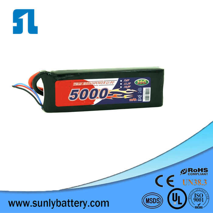4s rc batteries lipo 14.4v 22000mAh with 25C from Sunly factory