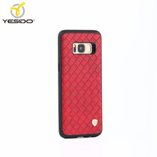 Alibaba China 3in1 woven leather cheap phone cases for samsung galaxy s8 cover case for s8