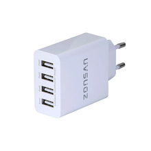 CE,ROHS,FCC Approved mobile phone 25W 4 ports usb fast charger smart charger