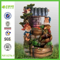 2015 Handmade Resin Small Decorative Water Fountain (CE)