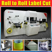 Dieless Label Roll to Roll Converting Machine by Laser Cutter