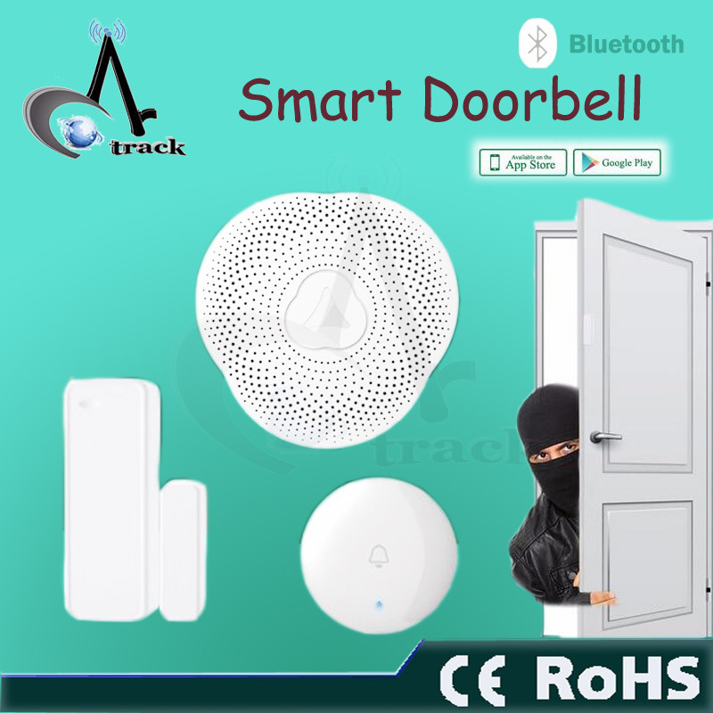 Hot doorbell security systems remote control mobile operated doorbell kids room alarm