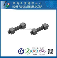 Made in Taiwan Brass Aluminum Stainless Steel Steel Stud Nut And Bolt