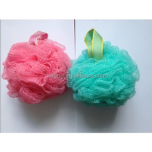 Daily luxuries mesh bath sponge in natural