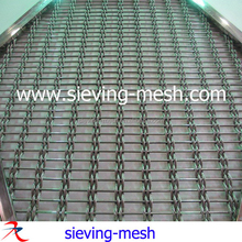 Woven Metal Fabric For Ceilings, Stainless Steel Architectural Wall Cladding Mesh