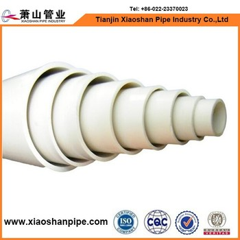 Factory prices american standard upvc drainage pipe sizes