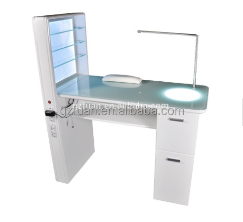 elegant design baking finish used portable nail stations for sale
