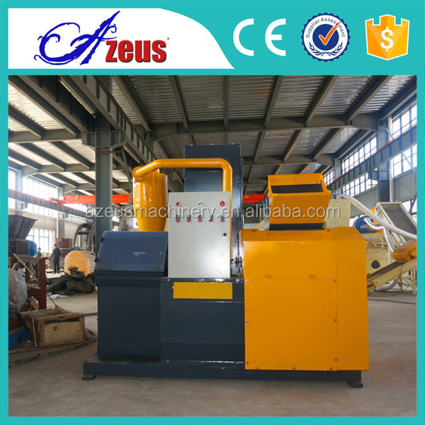 Durable <strong>scrap</strong> cable wire recycling machine AZS-400