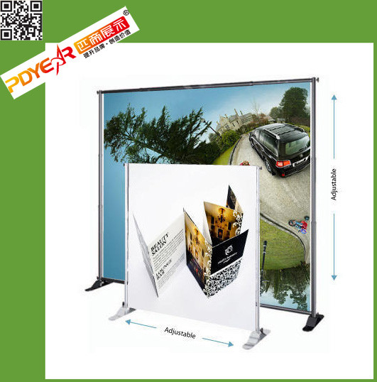 2016 telescopic backdrop banner stand advertising wall screen picture