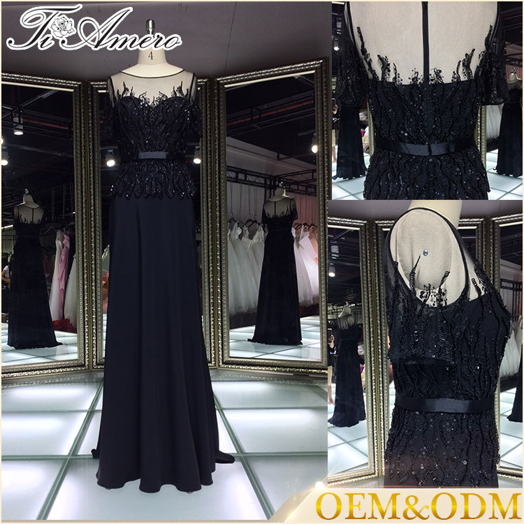 China wholesale hot sell high quality custom made bridesmaid wedding evening dress 2016