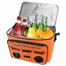 Insulated Cooler Bag with MP3 Wireless Bluetooth Speaker Waterproof