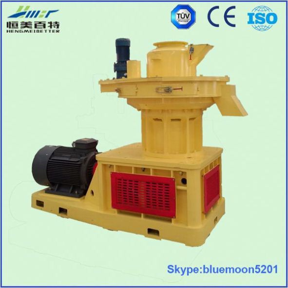 forest farm used vertical ring die efb fiber pellet pressing machine