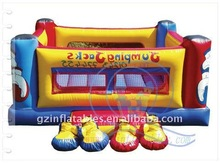 (Qi Ling) inflatable jumping boxing ring