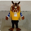 Big beauty and the beast mascot costume/monster mascot costume for adult