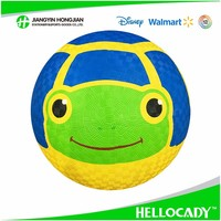 HP002 2017 Kids customized rubber Playground ball new products