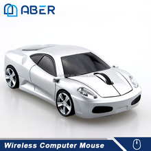 2.4Ghz USB Wireless Cordless Optical Car Shape RoHS Mouse