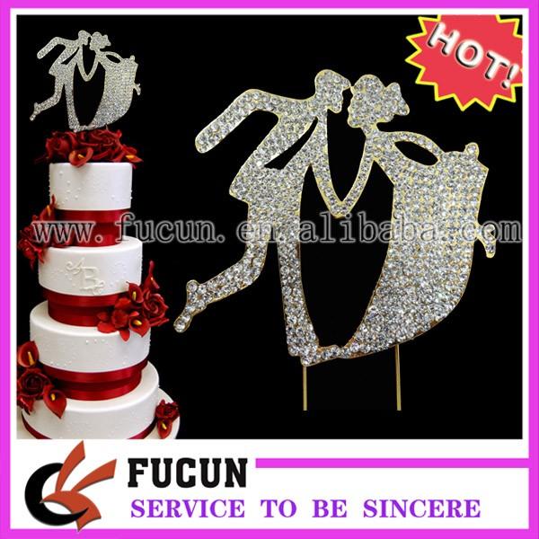 rhinestone bride and bridegroom cake topper 1.jpg