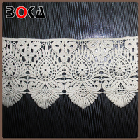 wholesale french white swiss cotton voile lace for wedding party blouse BK-TRM638