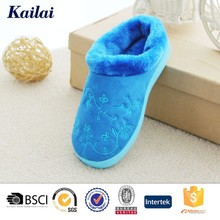 pretty warm soft new relax winter bedroom women slipper customized