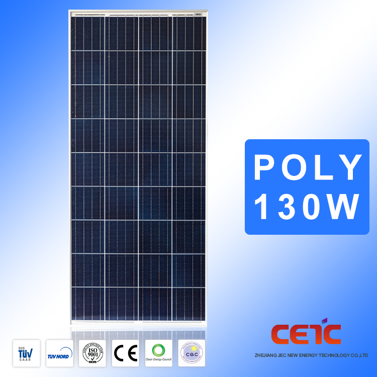 2017 High Efficiency Pv Module 130W Solar Panel With Cheap Price And Good Quality