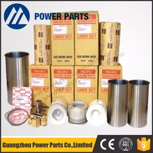 High Quality Isuzu 6BG1 Excavator Parts Engine Rebuild Kits for 1-11261-1190 Diesel Piston Liner