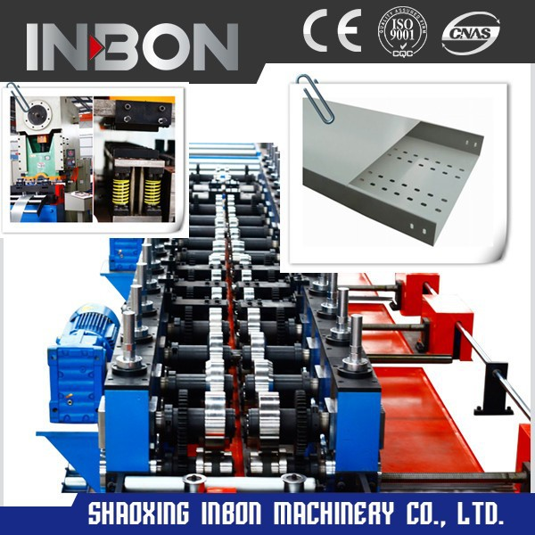 Cable Tray steel automatic hydraulic press cold Roll Forming Machine