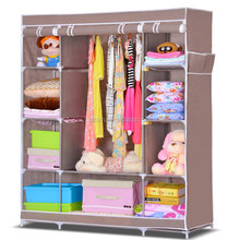 ethiopian furniture foldable clothes cabinet wardrobe organiser cheap fabric double color wardrobe design furniture bedroom