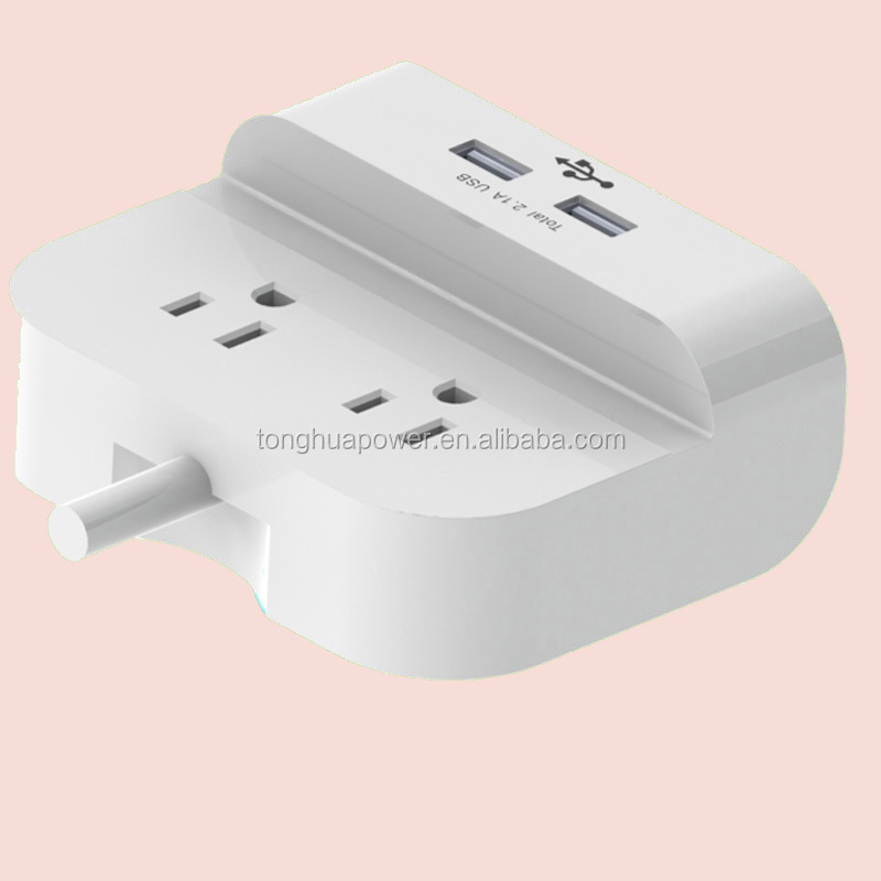 American usa canada mexico CETL C ul etl standard double socket/custom electrical outlets/multi socket extension cord