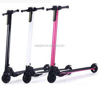 foldable light lithium battery Electric scooter for adult