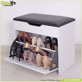 Janpanese style shoe storage shoe rack with bench and storage