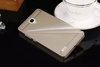 Aluminum Metal Bumper Frame Case for redmi note2 Acrylic PC Back Plate Cover for Xiaomi Hongmi Note2