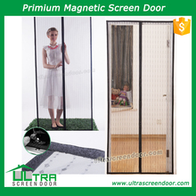 Magnetic Button Mosquito Screen Door Curtains For Slide Door