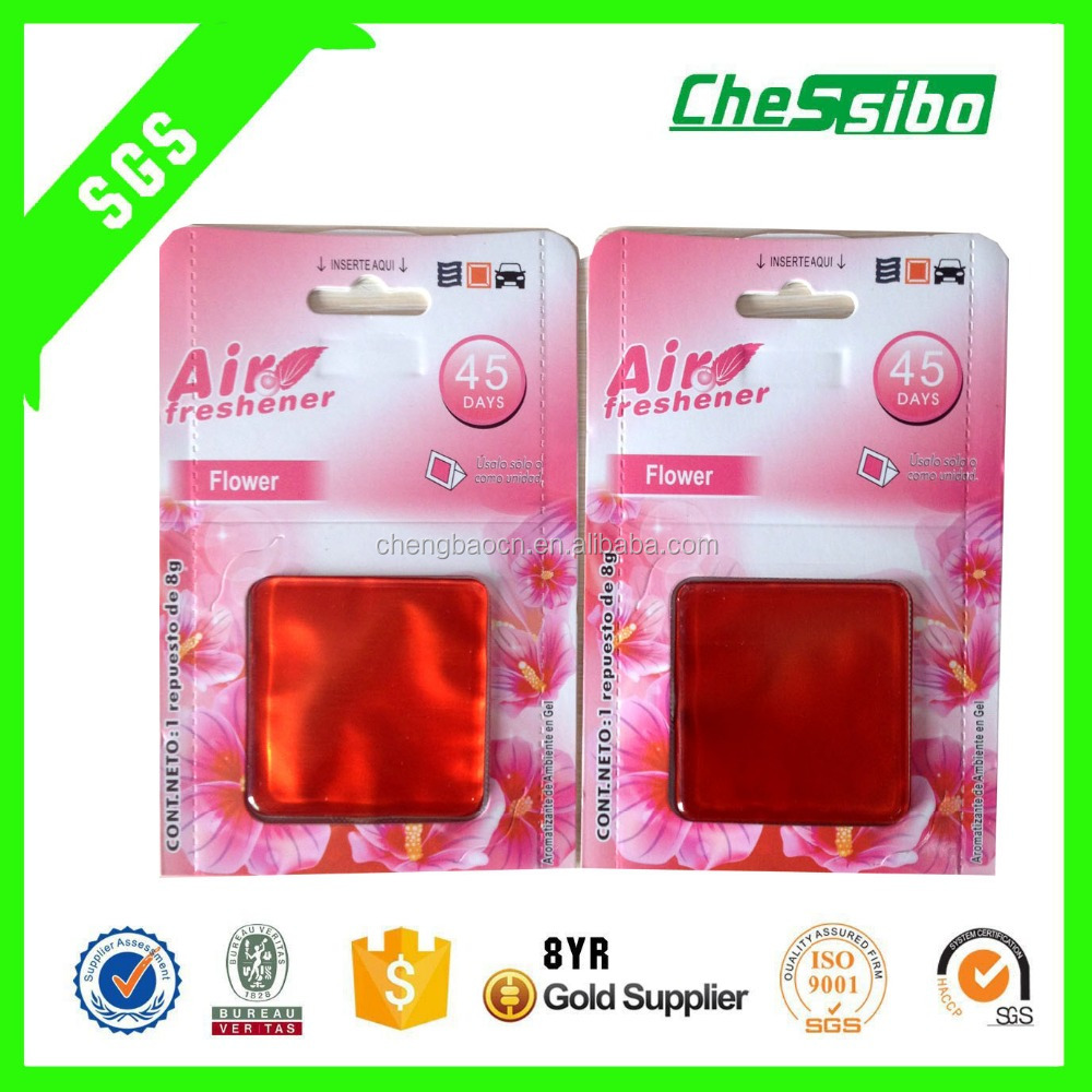 Bulk High quality Gel membrane air freshener used for Car/Home/Office for wholesale