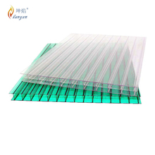 hollow sheet,pc sheet with UV coated polycarbonate uv400 protection