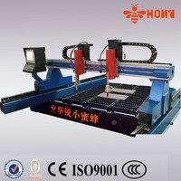 plasma cnc with torch heitght control steel cutting machine
