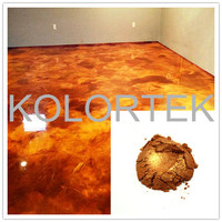 Metallic Expoy pigments, Metal Color Luster Epoxy Flooring Pigments