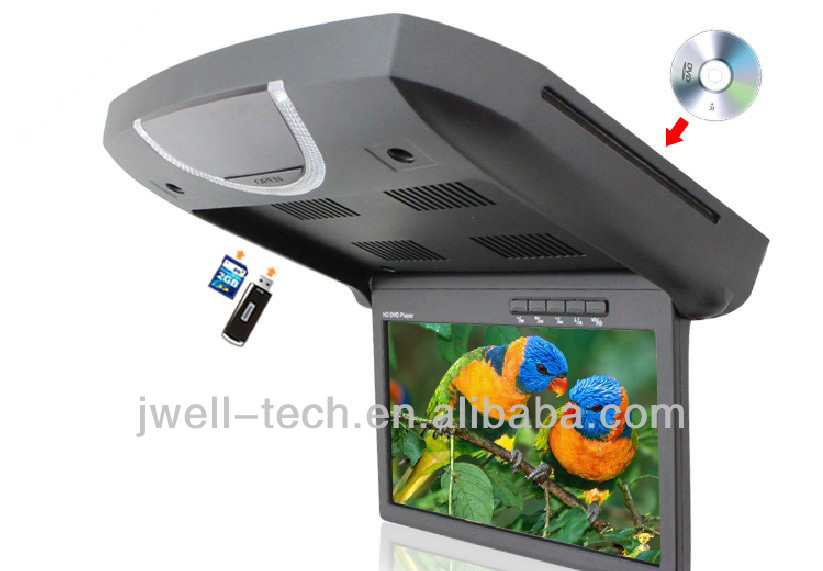 shenzhen slot loading car dvd player with usb/sd slots