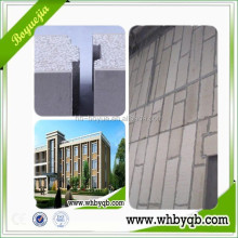 New type easy construction reinforced fiber cement siding board for prefab house