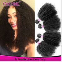 China supplier new product afro kinky human hair wholesale cabelo humano barato