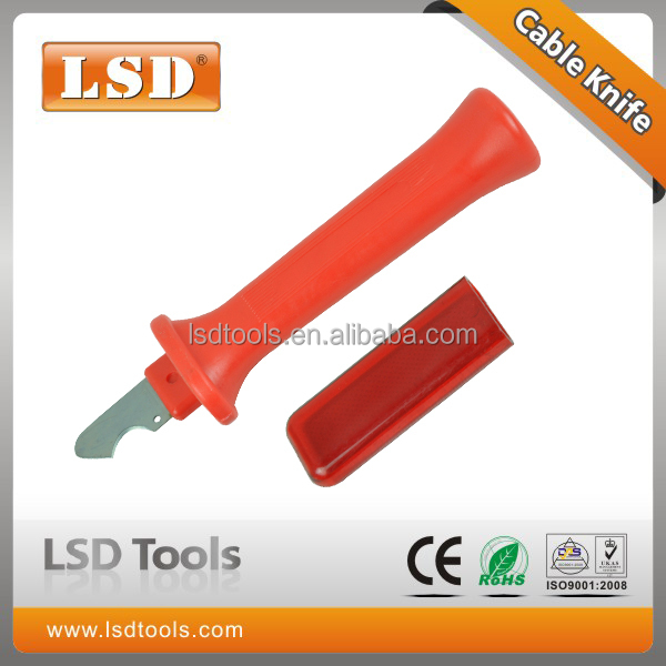 Cable stripping knife fixed hook blade,wire stripper knife LS-53