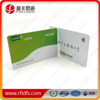 ISO14443A programmable rfid customer card sample