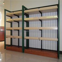 High end single sise 4 layers shelving rack turkey