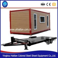 2016 pop hot sale design prefabricated container fast food restaurant houses assembled kitchen box units modular house