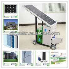 Draw and purify water from wells, ponds, streams or rain water reverse osmosis Solar Water Purifier System