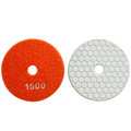 Abrasive Dry granite polishing diamond buffing pads