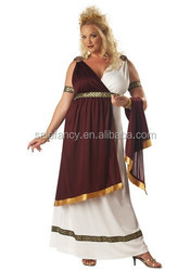 plus size roman soldier costume ladies fancy dress QAWC-2734