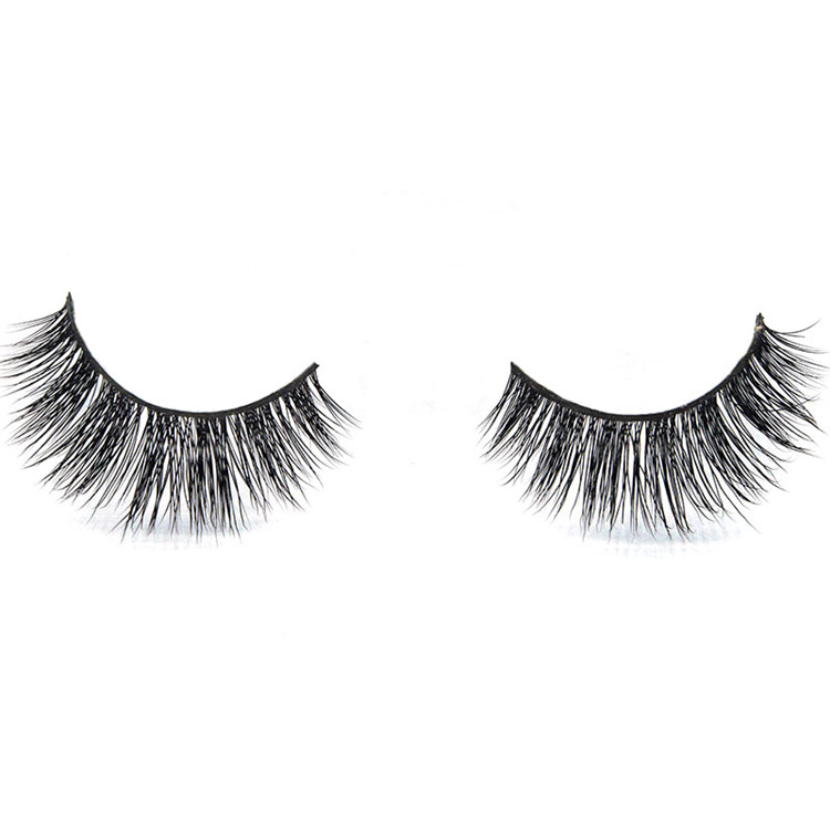 Natural Long Cross 3D False Eyelashes Fake Eye Lashes Hand Made Makeup Eye Lashes